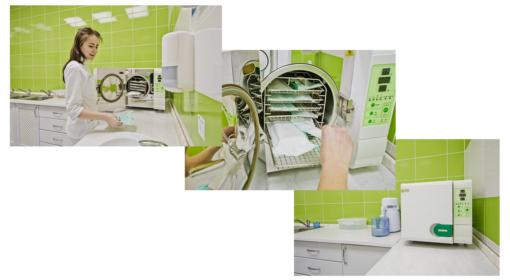 Дезінфекція і стерилізація інструментів.